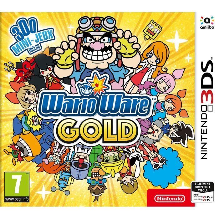 Selection de jeux vidéo en promotion - Ex : WarioWare gold sur 3DS
