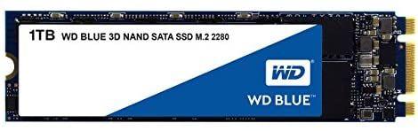 SSD interne M.2 SATA Western Digital WD Blue (3D Nand) - 1 To