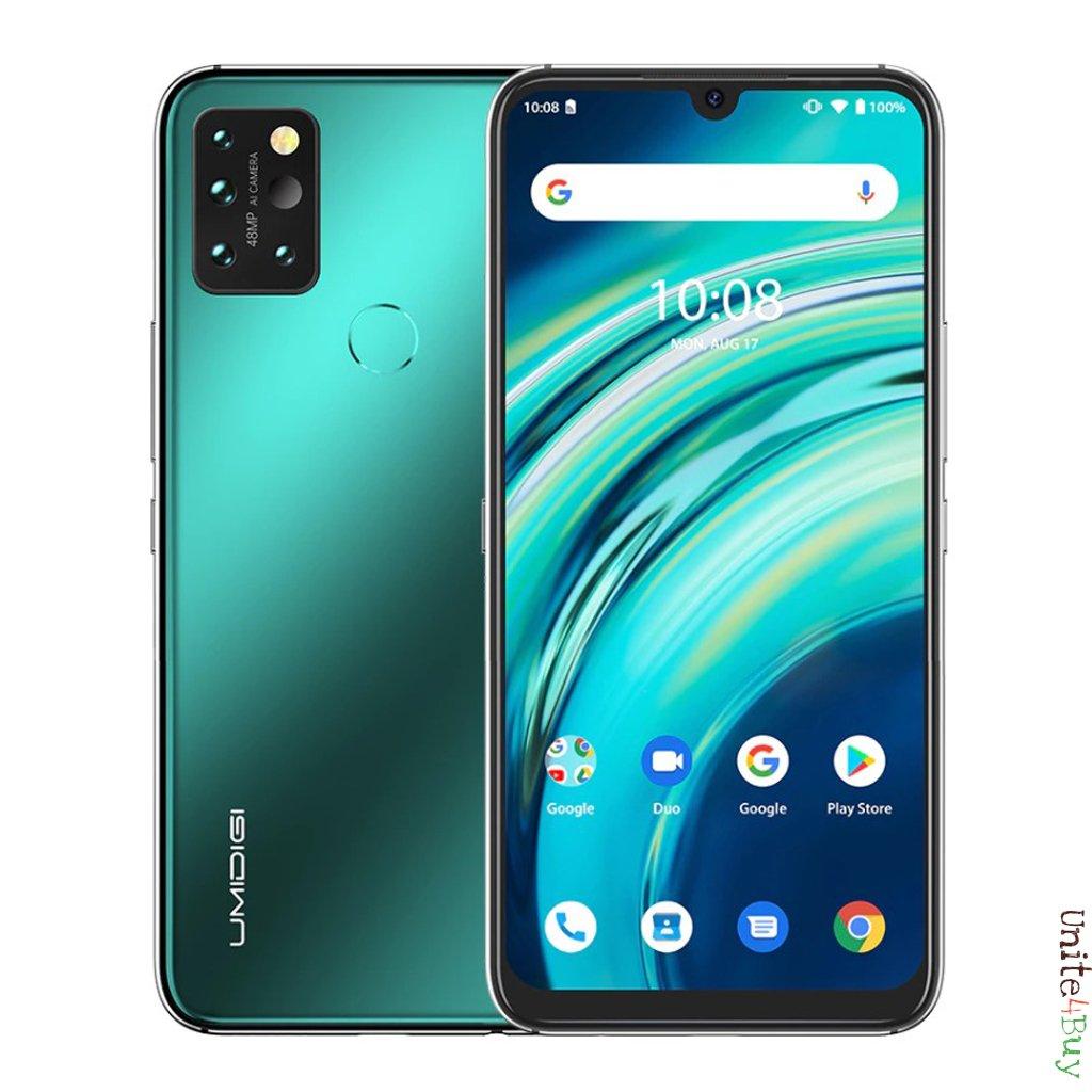 """Sélection de Smartphone Umidigi en promotion - Ex : Smartphone 6.3"""" Umidigi A9 Pro - 128 Go, 6 Go de Ram"""