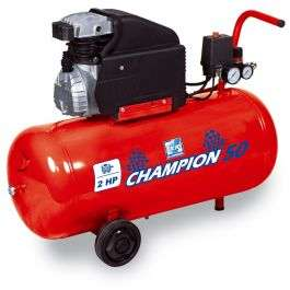 Compresseur horizontal Fiac Champion 50 - 2 cv, 50 L