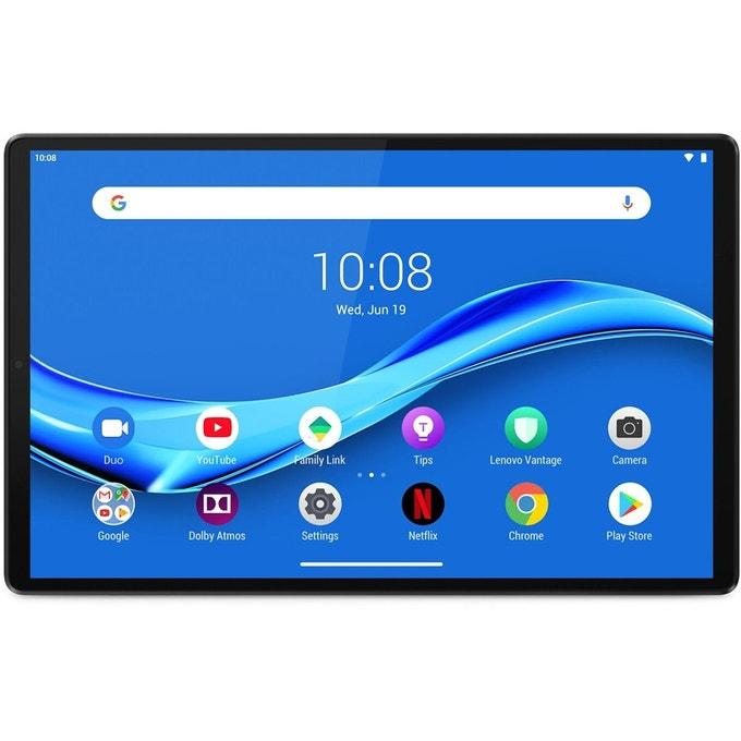 "Tablette 10.3"" Lenovo Tab M10+ X606 - Full HD, Helio P22T, RAM 4 Go, 64 Go (Vendeur Darty)"
