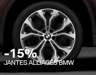 Sélection de Jantes Alliage BMW en promotion (accessoires-bmw.fr)