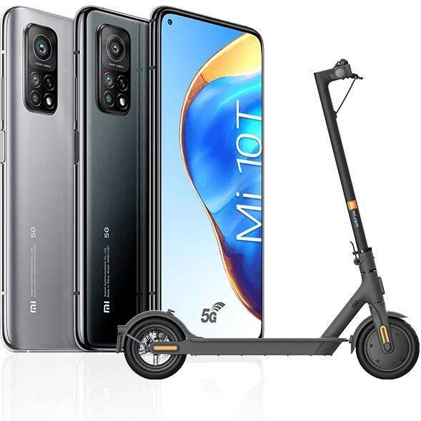 "[Précommande] Smartphone 6.67"" Xiaomi Mi 10T - 6 Go RAM, 128 Go, 5G + Trottinette Xiaomi Mi Electric Scooter Essential (via formulaire)"
