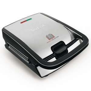 Machine à Gaufres et Croques Monsieur Tefal SW853D12 Snack Collection