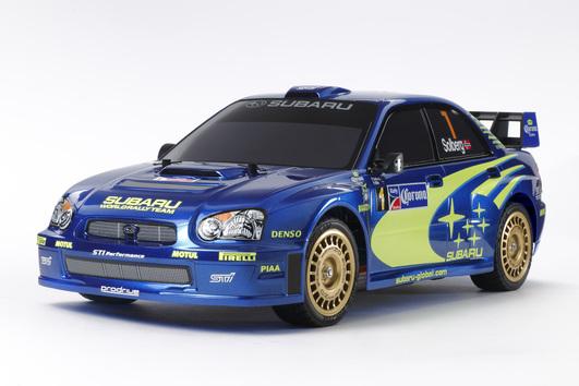 Voiture Modelisme Tamiya TT-01E Subaru impreza WRX 2004 (der-schweighofer.at)