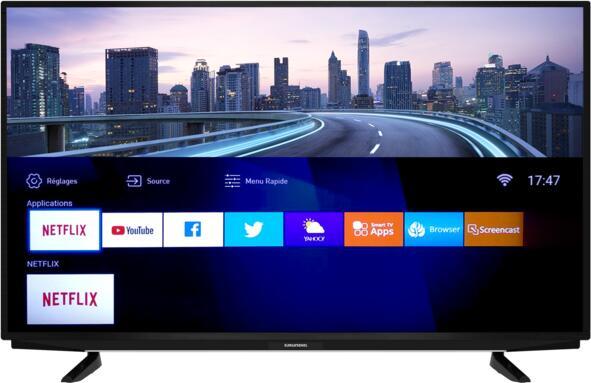 """TV 43"""" Grundig Vision 7 43GEU7900B - 4K UHD, HDR 10, LED, Smart TV, Live Share (via ODR de 100€)"""
