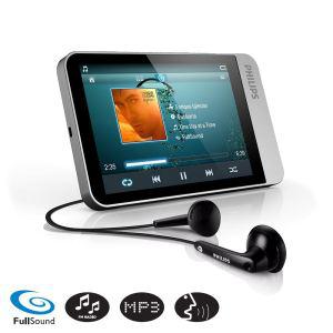 Baladeur audio vidéo Philips SA060308 8Go - Slot carte SD