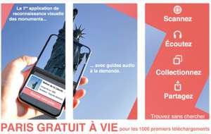Application Whatizis Monument Paris Premium Gratuite sur iOS