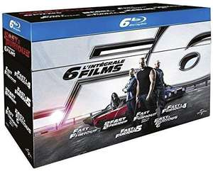Sélection de Blu-ray en promotion - Ex: Coffret Blu-Ray Fast and Furious - 6 Films