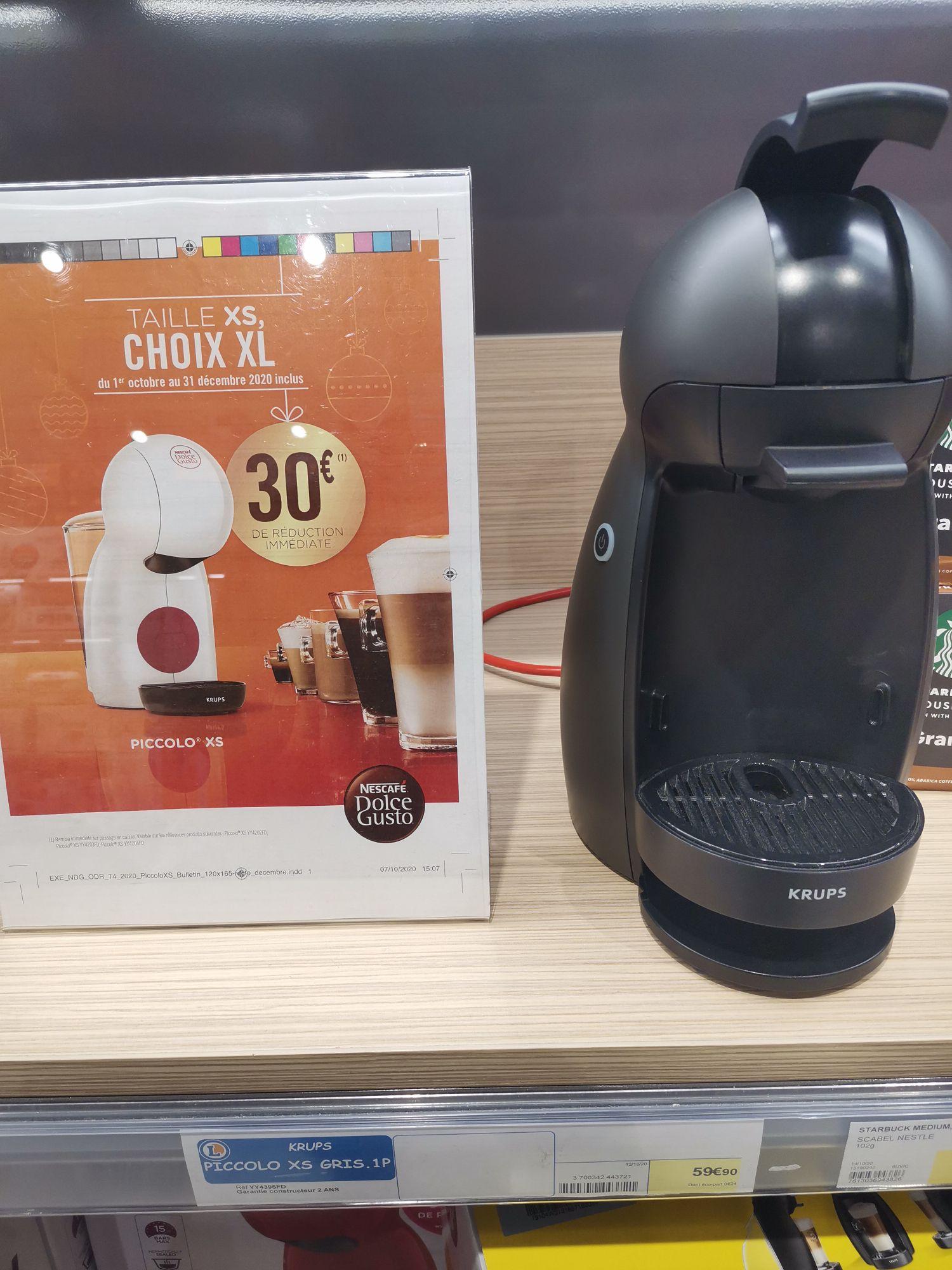 Machine à café Krups Dolce Gusto Piccolo XS - Rueil-Malmaison (92)
