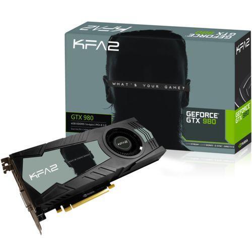 Carte graphique KFA2 GeForce GTX980 4Go DDR5 et RISE OF THE TOMB RAIDER OFFERT !