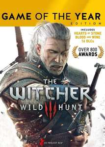 The Witcher 3: Wild Hunt - Game of the Year Editionsur PC (Dématérialisé - DRM-Free)