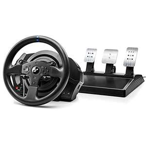 Volant de course + pédalier Thrustmaster T300RS GT Edition compatible PC / PS3 / PS4 / PS5