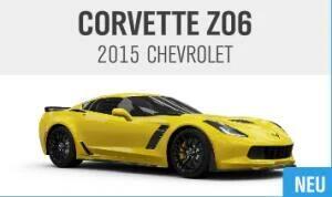 Contenu numérique : Chevrolet Corvette Z06 2015 gratuit pour Forza Horizon 4 sur Xbox One & PC (Dématérialisé)