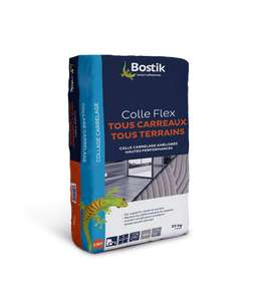 Sac de 25 Kg de Colle à Carrelage Bostik Tous Supports (norme C2ET) à partir de 18.95€