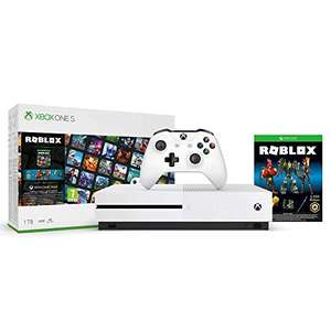 Pack Console Microsoft Xbox One S (1 To) + Roblox + 1 Mois Xbox Game Pass Ultimate