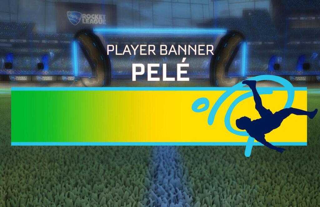 Bannière Pelé gratuit sur Rocket League (Dématérialisé)