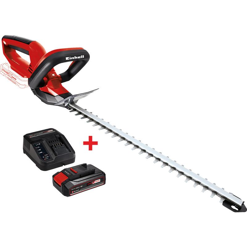 1 Chargeur + 1 batterie 2.5Ah offerts pour l'achat d'un outil sans-fil Einhell - Ex: Taille-haies sans fil Einhell GE-CH 1846