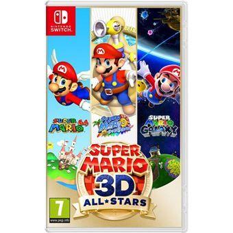 Jeu Super Mario 3D All Stars sur Nintendo Switch