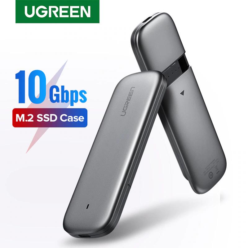 Boitier Externe Ugreen pour SSD M.2 SATA NGFF - USB C 3.0, 6 Gbps (Via coupon vendeur)
