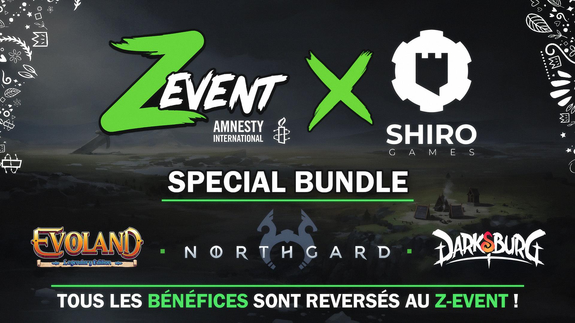 Bundle Zevent : Jeux Northgard + Evoland Legendary Edition (Evoland 1 & 2) + Darksburg sur PC (Dématérialisé, Steam) - shirogames.com