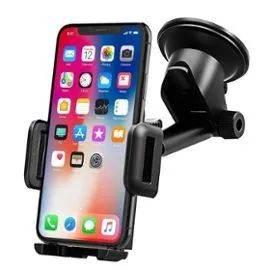 Support téléphone voiture - Fixation pare-brise / tableau de bord