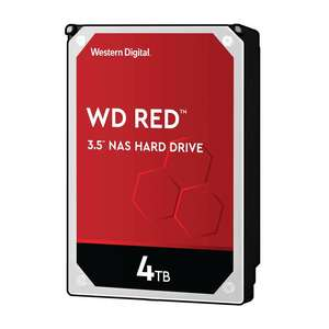 """Disque dur interne 3.5"""" NAS WD Red - 4To (Frontalier Suisse)"""