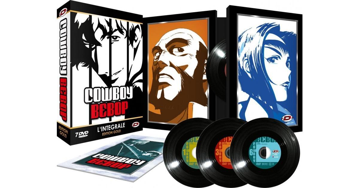 Coffret DVD : Cowboy Bebop Intégrale + Livret - Edition Gold
