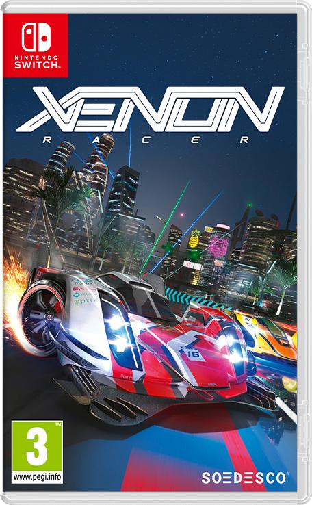 Xenon Racer sur Nintendo Switch (Dématérialisé)
