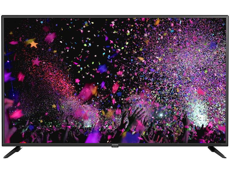 """TV 50"""" Grandin UD50CGB202 - 4K, LED, Smart TV, HDMI (x3), VGA (x1)"""