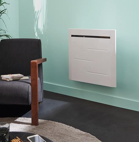 Radiateur à inertie sèche Noirot Nymphe 1 000 W - 58,9 x 59,2 cm