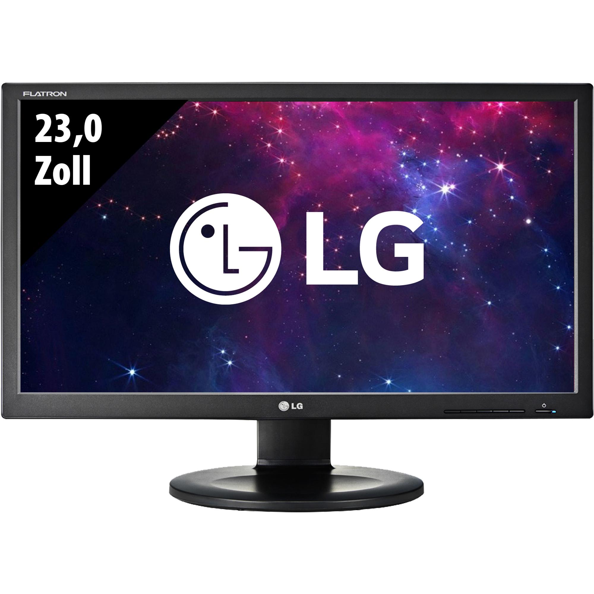 "Écran PC 23"" Lg Flatron IPS231P-BN - full HD, LED IPS, 60hz, 5ms (Reconditionné - Grade B)"