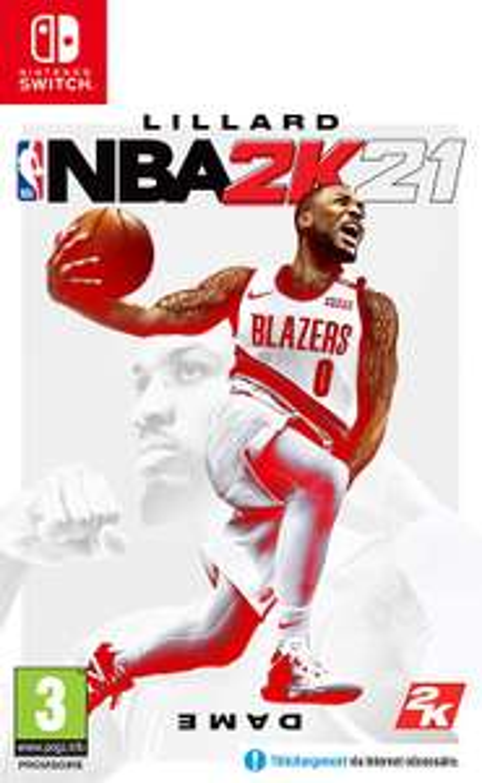 Jeu NBA 2K21 + DLC sur Nintendo Switch