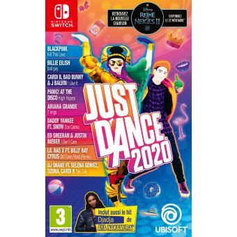 Just Dance 2020 sur Nintendo Switch + Porte-clé Les Lapins Crétins offert