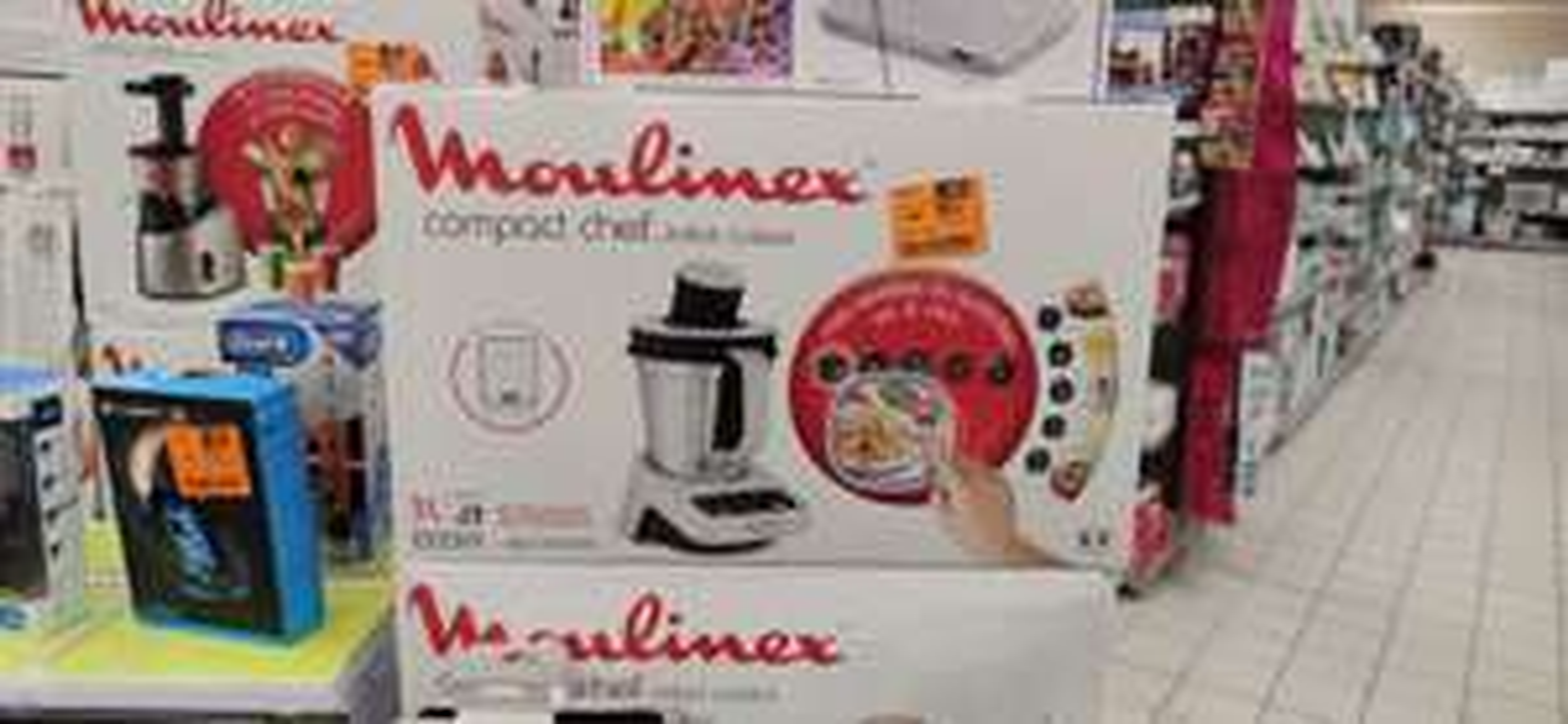 Robot cuiseur Moulinex Compact Chef + balance - Bonneville (74)