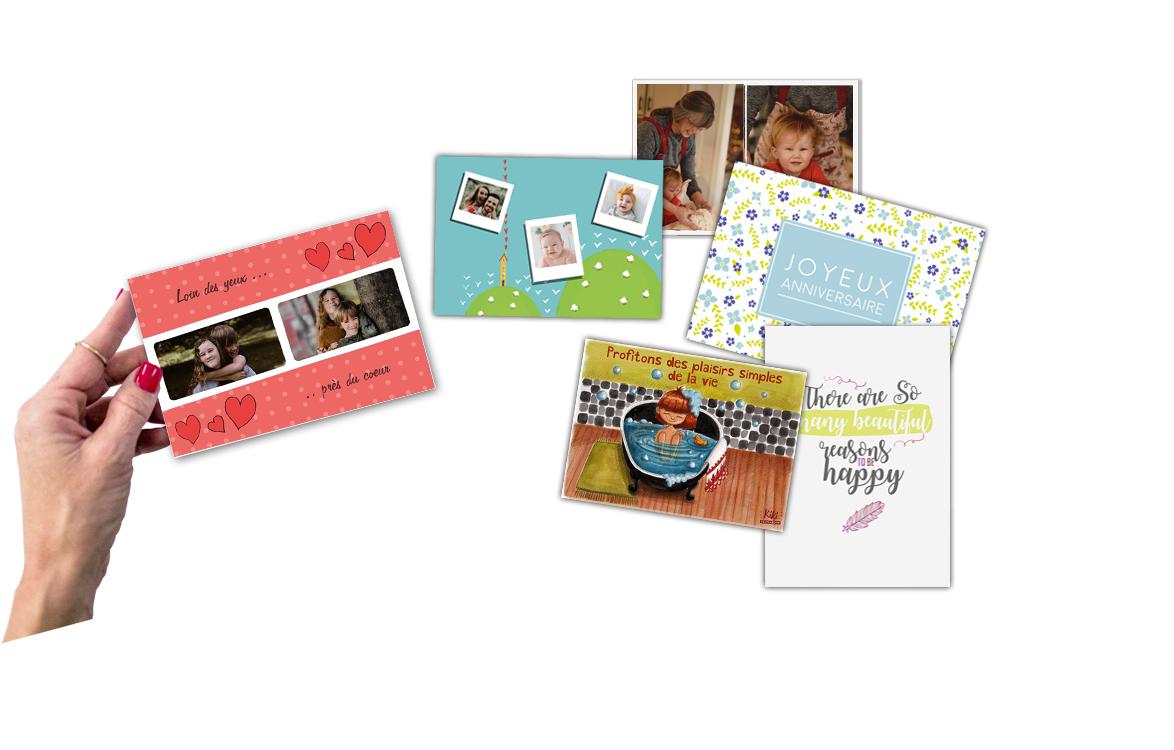 Carte postale personnalisable 10x15cm offerte - Merci-Facteur.com