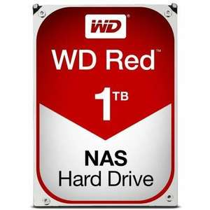 """Disque dur interne 3.5"""" Western Digital Red - 1To, 64Mo"""