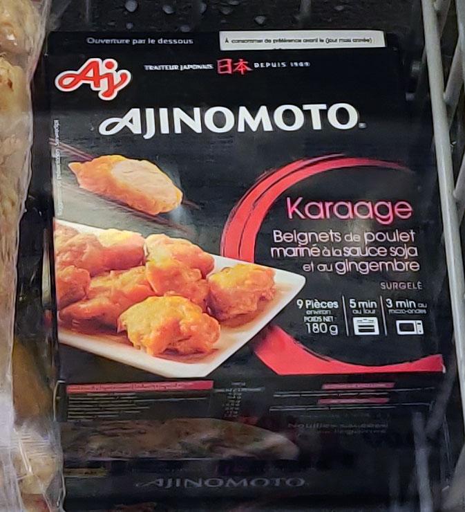 Sélection de plats destinés au marché japonais en promotion - Ex : Karaage Ajinomoto - Saintes (17)