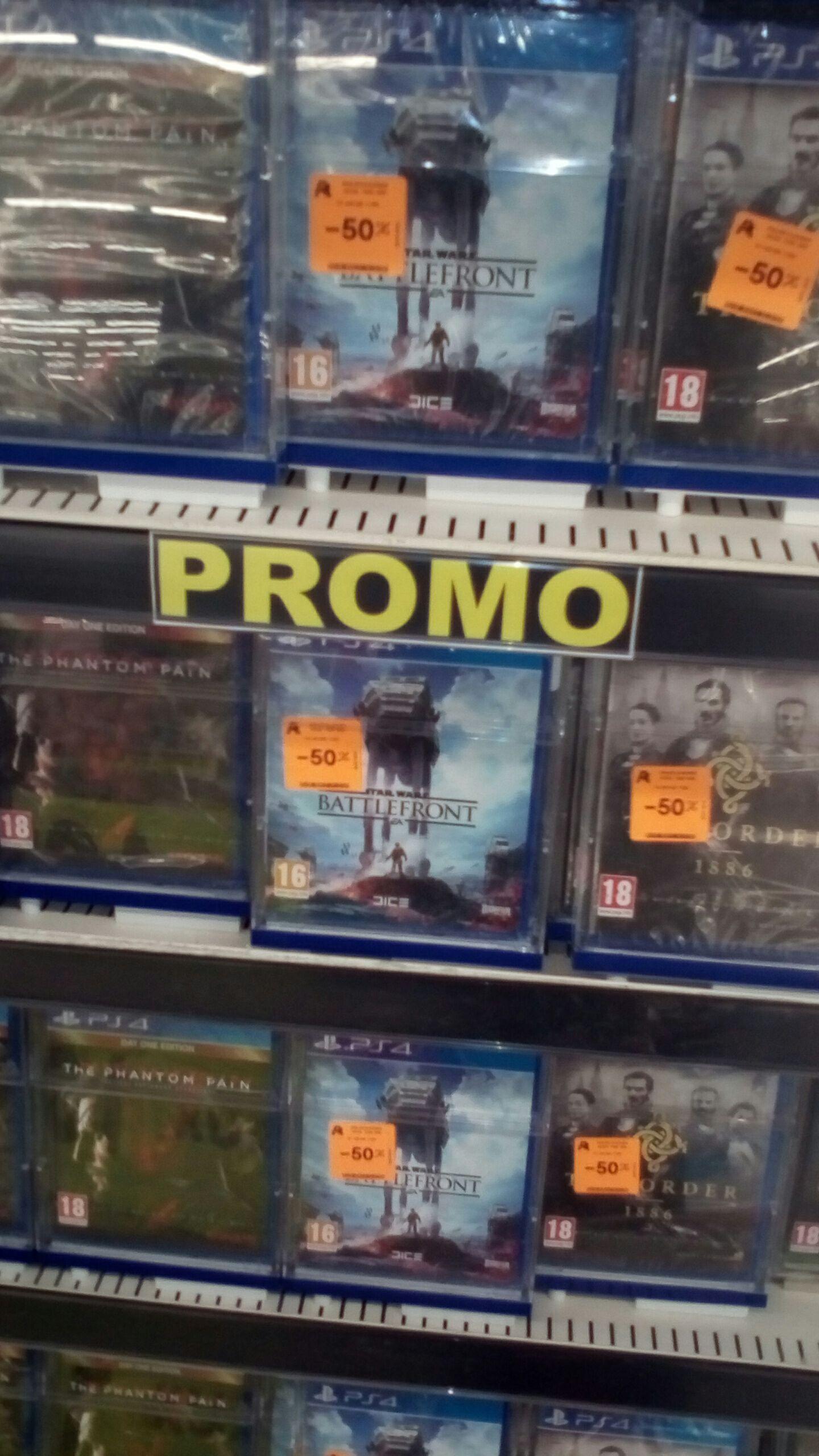 Jeu Star Wars Battlefront sur PS4