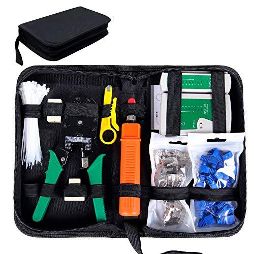 Kits d'outils de réparation + testeur réseau RJ45 Sgile 9 - avec pince à sertir (vendeur tiers)