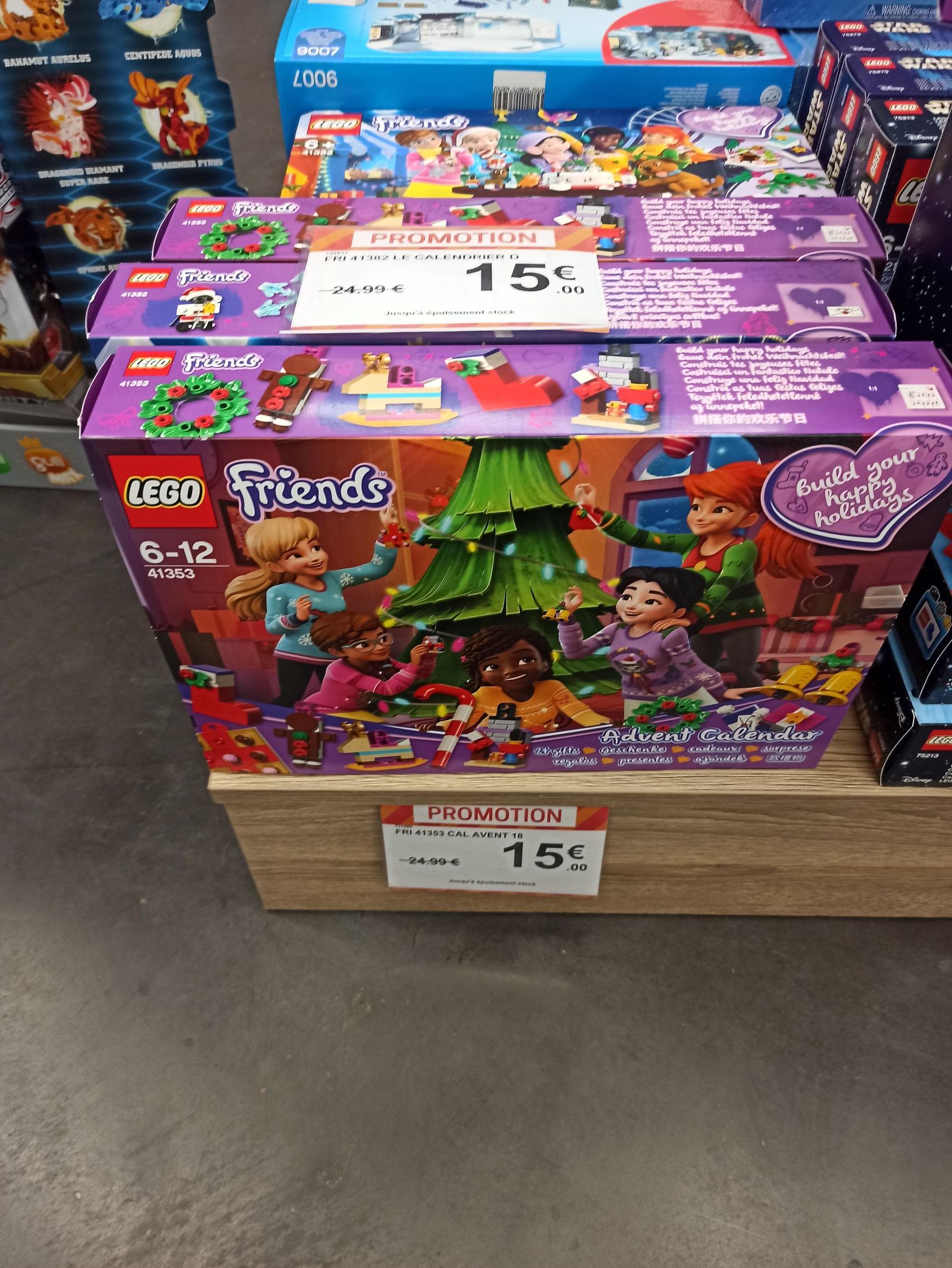 Calendrier de l'Avent Lego Friends - Besançon Chalezeule (25)