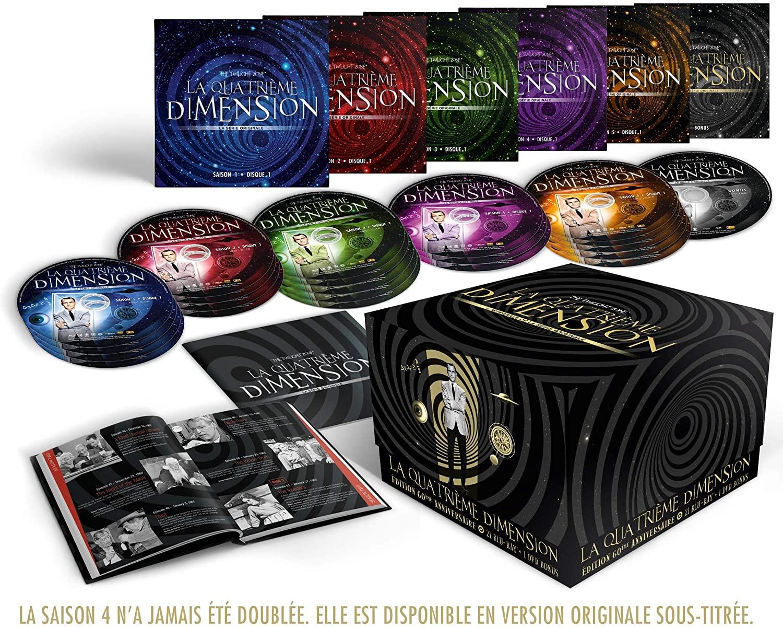 Blu-ray La Quatrième Dimension (La série Originale) -L'intégrale [Édition 60ème Anniversaire]