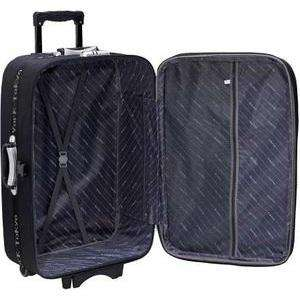 Valise polyester 46 cm extensible