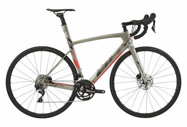 Vélo de route BH G7 Disc 4.8 Shimano 105 11V (2020) - gris/rouge (taille M) ou argent/noir (taille S)