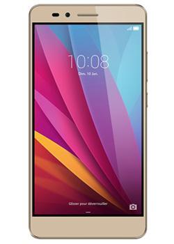 "Smartphone 5.5"" Honor 5X - Full HD, Snapdragon 616, 16 Go, 2 Go de Ram Argent ou Or + Casque JVC offert (via ODR 30€)"