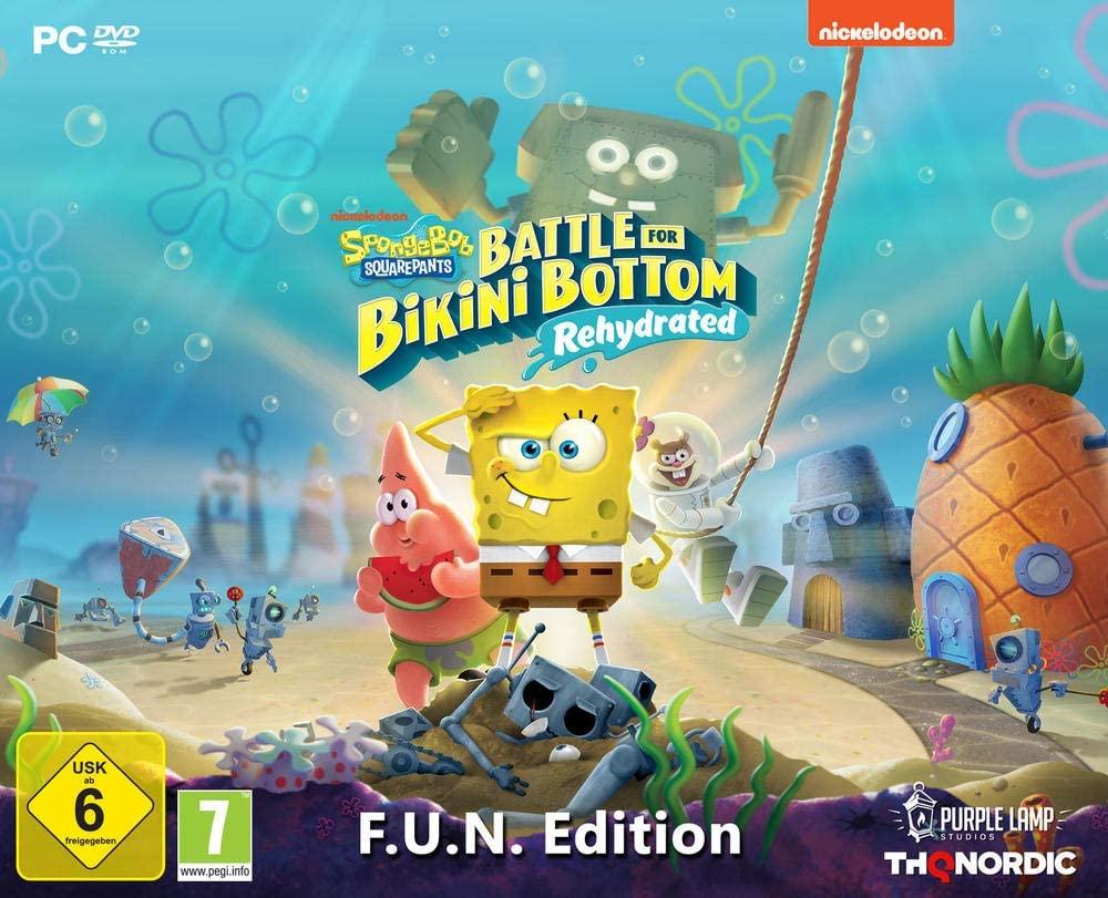 Bob l'éponge : Battle For Bikini Bottom - Edition Collector F.U.N sur PC