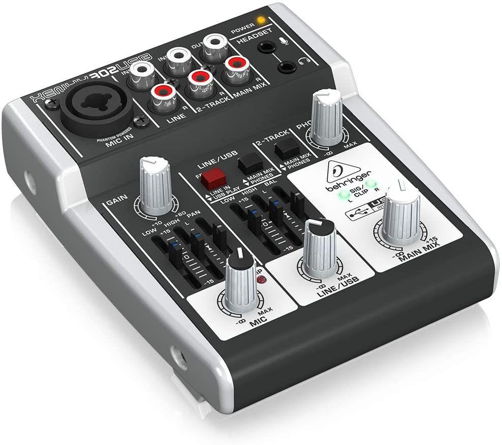 Console de mixage Behringer Xenyx 302USB