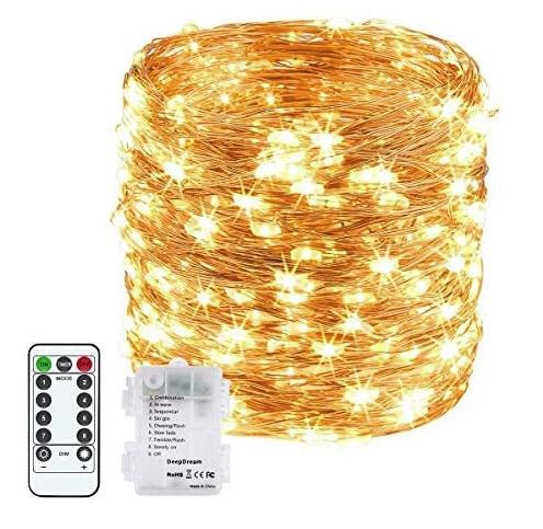 Guirlande lumineuse Apsonar - 200 LED, 20m avec télécommande (vendeur tiers)