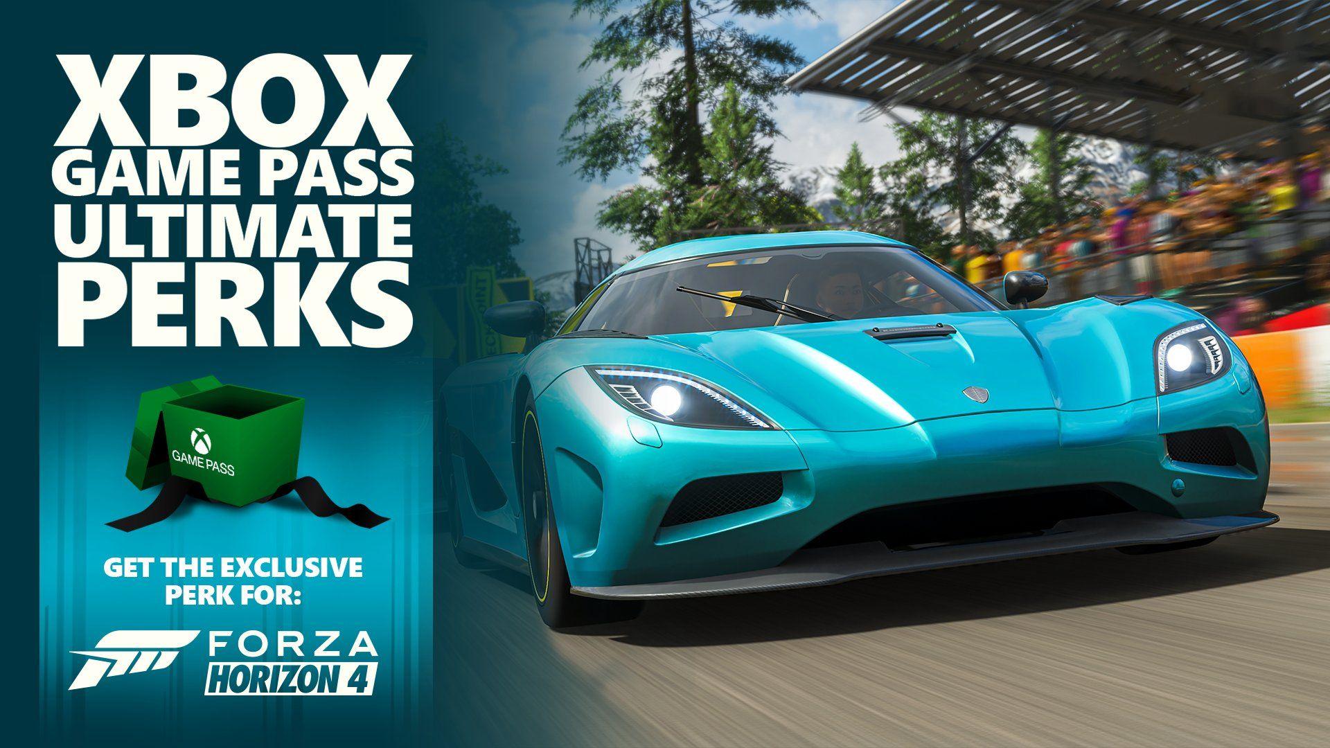[Xbox Game Pass Ultimate] DLC 'Pack Road Trip' avec 3 voitures Koenigsegg, Maserati & Pagani offert pour Forza Horizon 4 (dématérialisé)