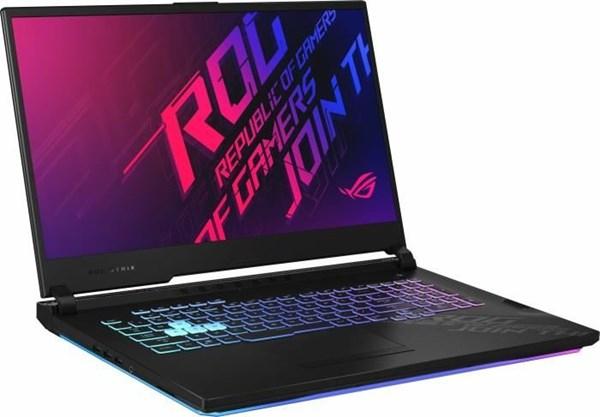 "PC portable 17.3"" full HD Asus ROG Strix G17 G712LWS-EV830T - i7-10750H, RTX-2070 Super (8 Go), 8 Go RAM, 512 Go SSD, Windows 10, QWERTZ"
